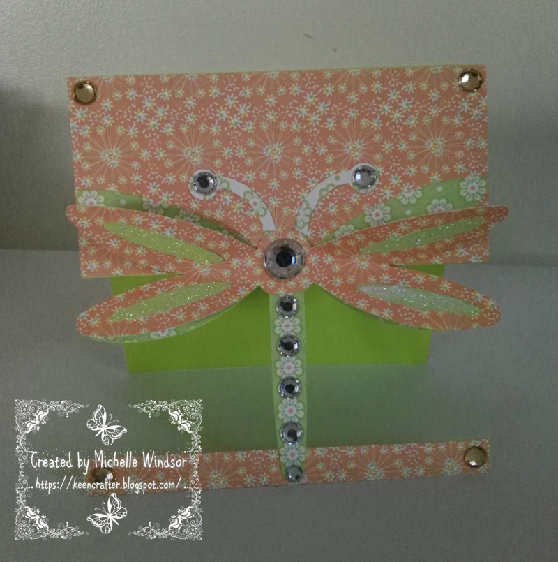 Michelle windsor - dragonfly card