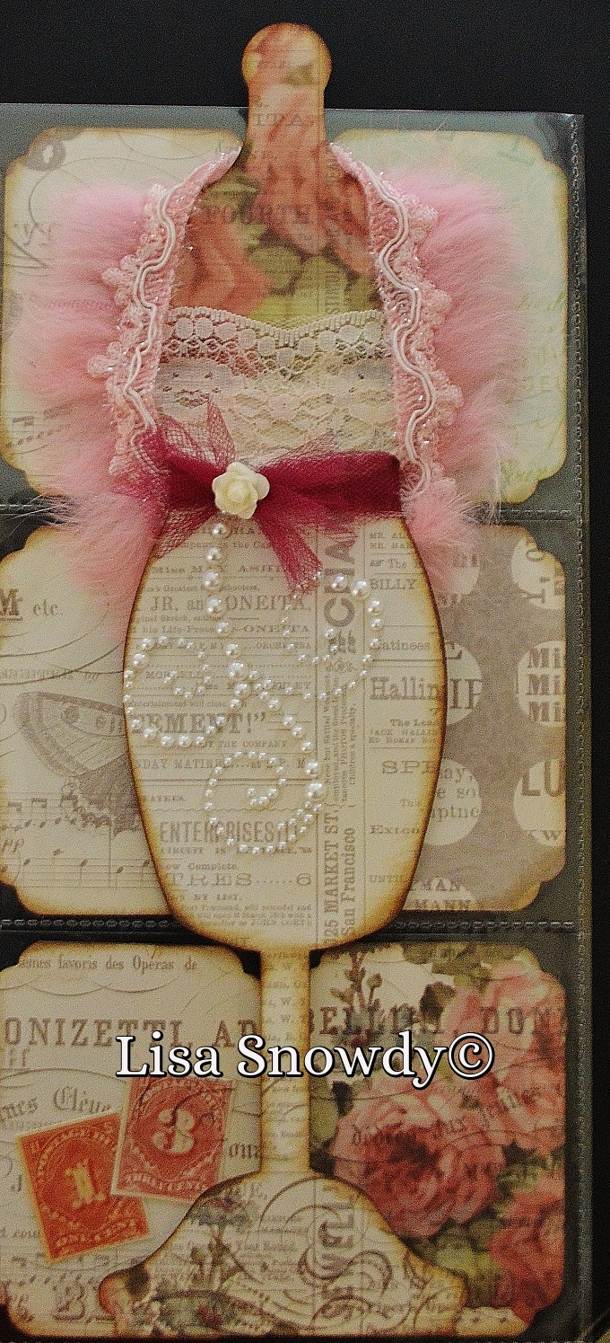 Fun with dress forms - Lisa Snowdy