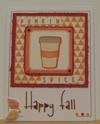 Autumn sentiment card frames  -Rhonda Zmikly