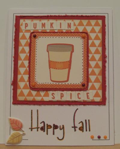 Autumn sentiment card frames  -Rhonda Zmikly