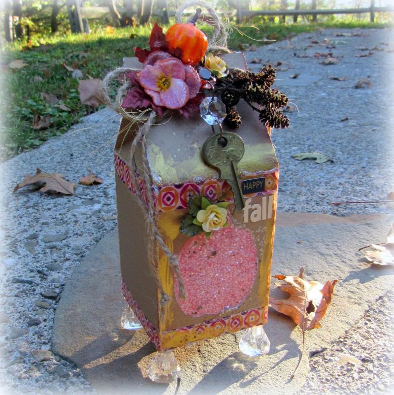 Halloween and fall milk cartons - Mitra Pratt