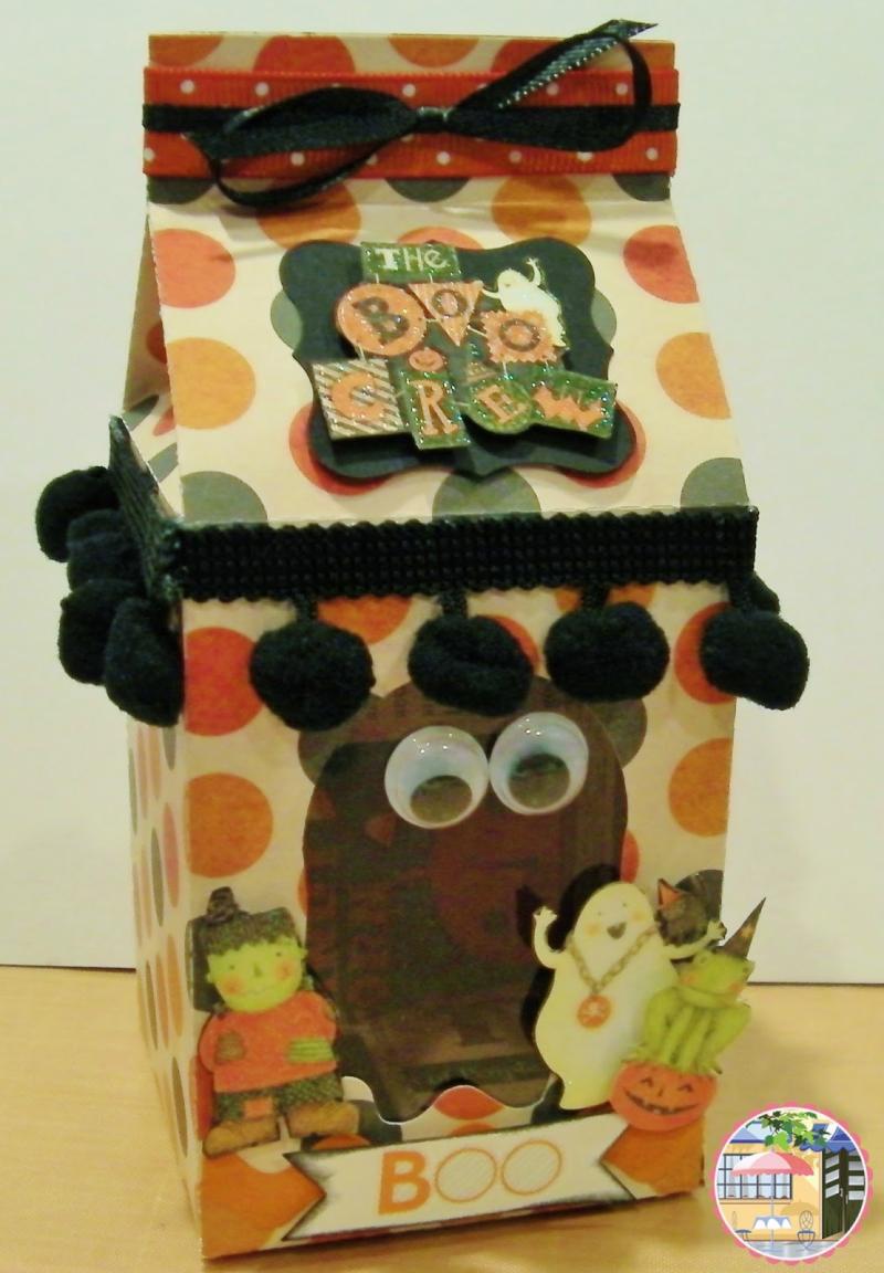 Halloween and fall milk cartons - rhonda zmikly