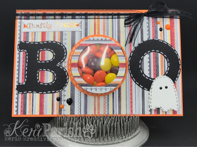 Halloween treat cup cards - Keri Parish