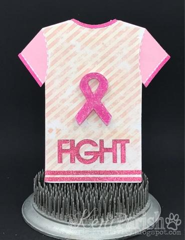Keri parish - breast cancer t-shirt set