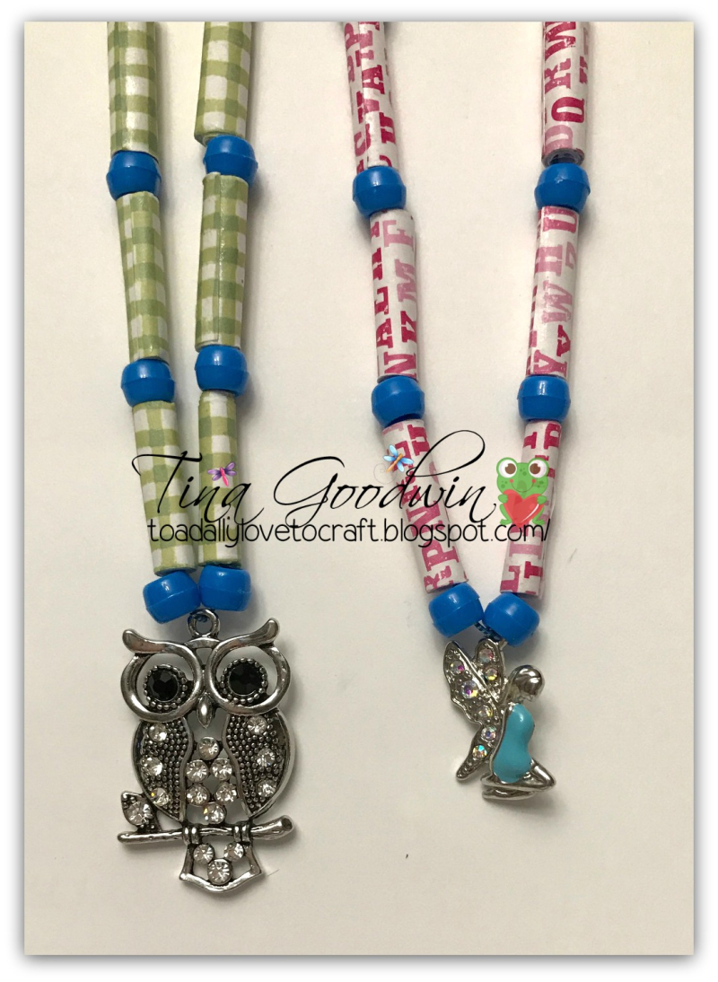Tina goodwin - paper beads