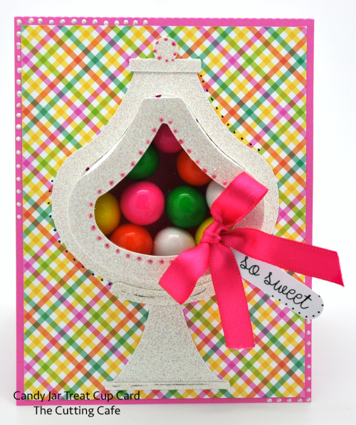 Candy jar card