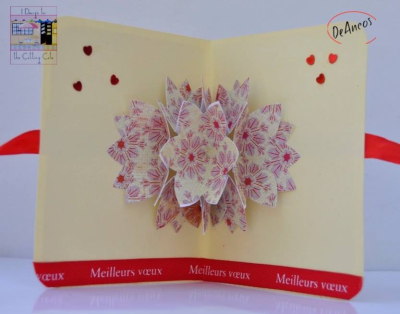 Maria pilar - flower pop up card 1