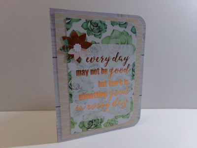 Audrey long - flower pop up card 1