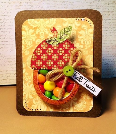 Halloween and fall treat cup cards - ROBYN WEATHERSPOON