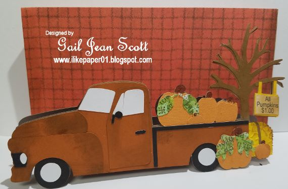 Gail - happy fall scene card