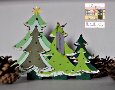 Tina goodwin christmas tree trio
