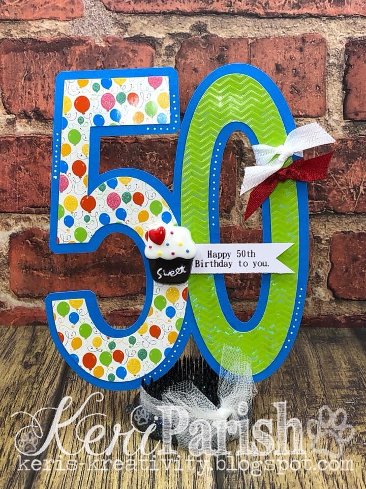 Keri 50 milestone