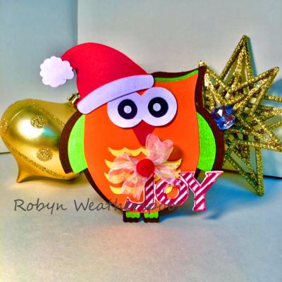 CC Owl Christmas card11