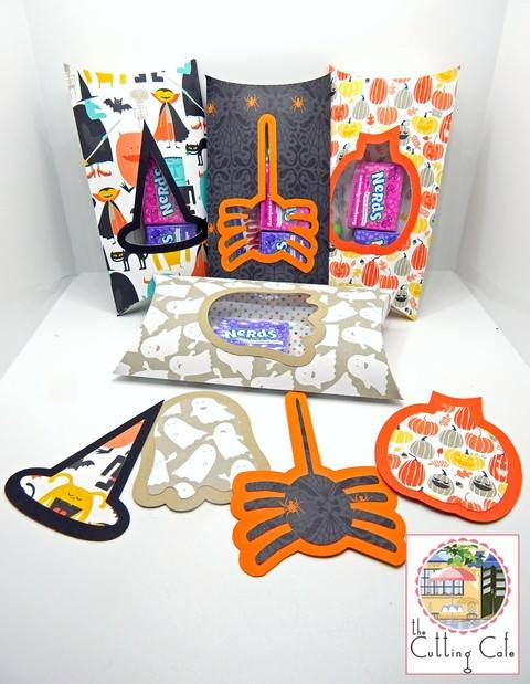 Kim - halloween pillow boxes