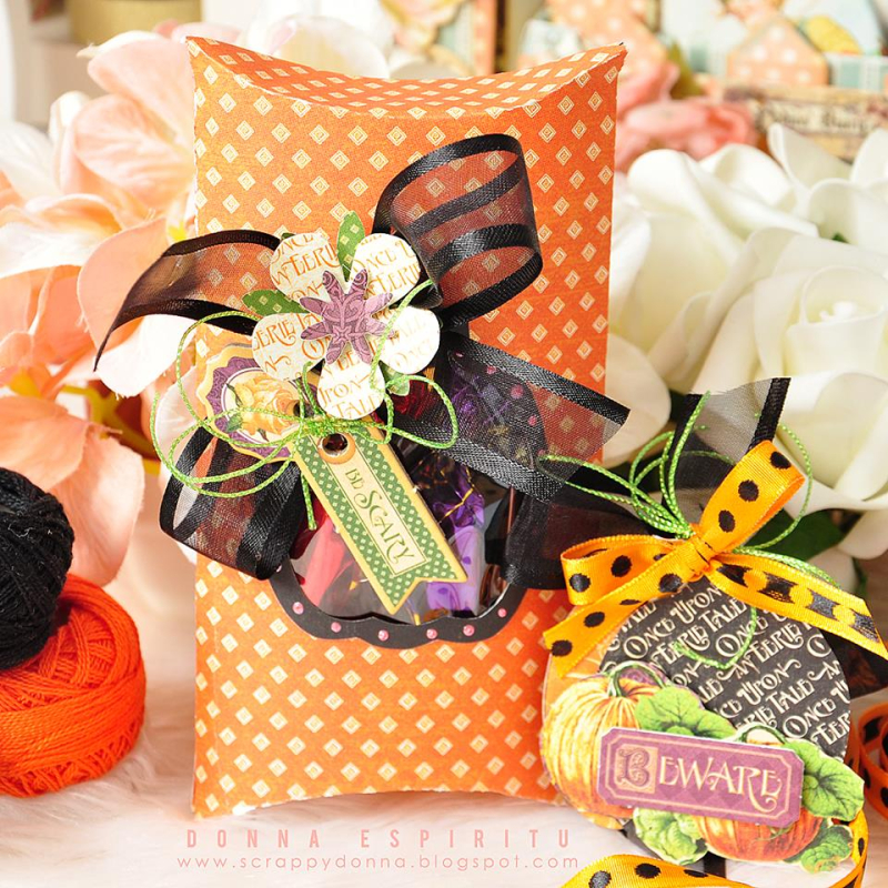 Donna - halloween pillow boxes