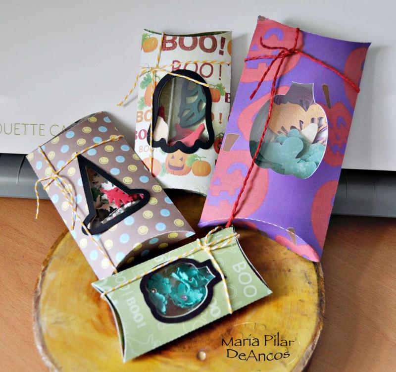 Maria pilar - halloween pillow boxes