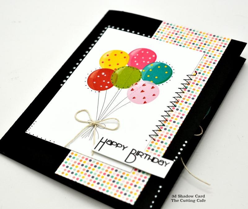 3d shadow card birthday2