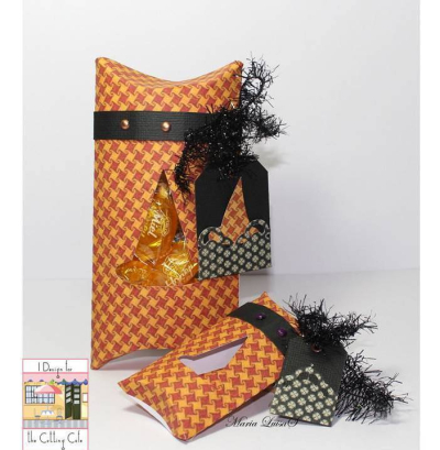 Maria luisa - halloween pillow boxes