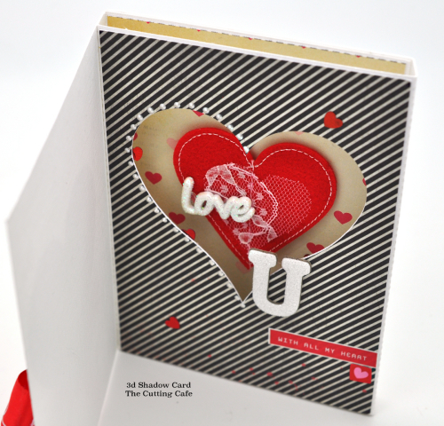3d shadow card heart all pictures