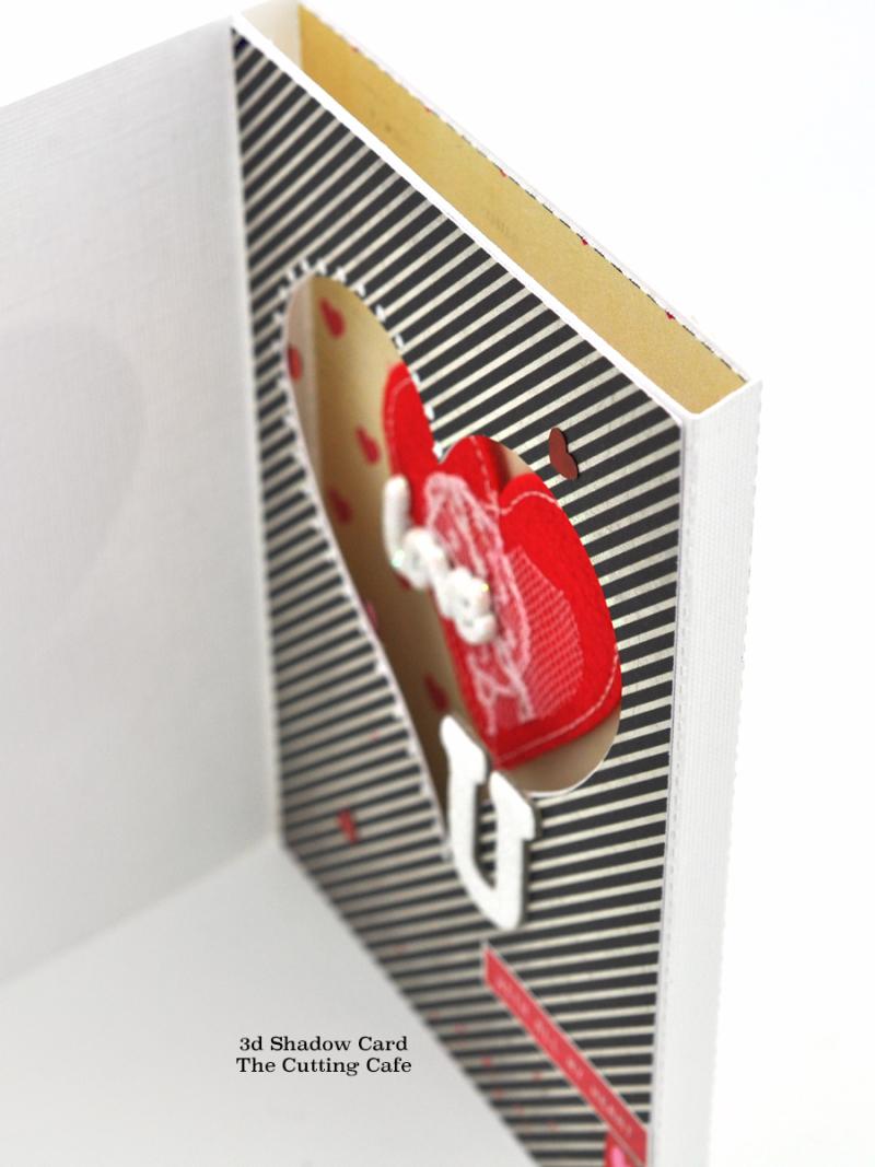 3d shadow card heart3