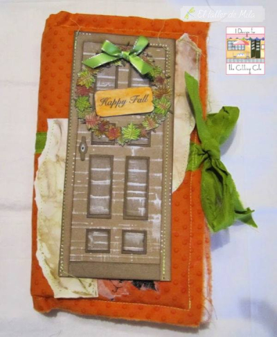 Milagros Asensio Perez - front door shaped card