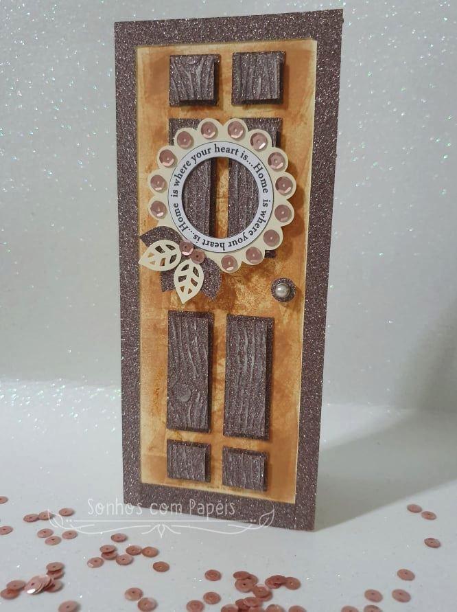 Susana Isabel Caetano - front door shaped card