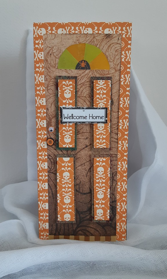 Alexandra Raoult - front door shaped card