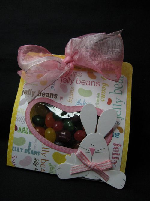 Jelly beans  Dianne Strofhus - Jelly Bean goody bag holder and Jelly bean background set