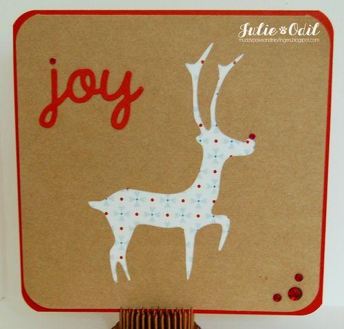 Christmas card fun - julie odil