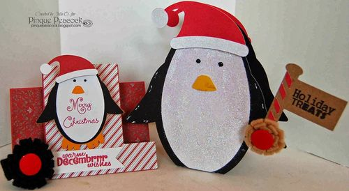 Julie Odil - Step Cards and Fun with penquins..