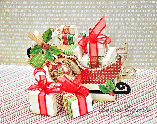 Sleigh treat box - Donna Espiritu