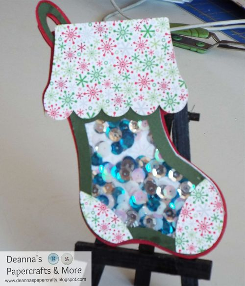 Stocking shaker - Deanna Mulder