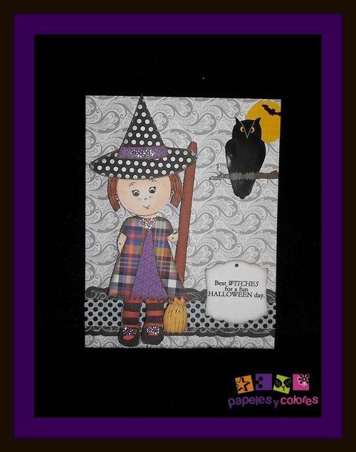 Mikala Ann being a good witch - Doris Molina