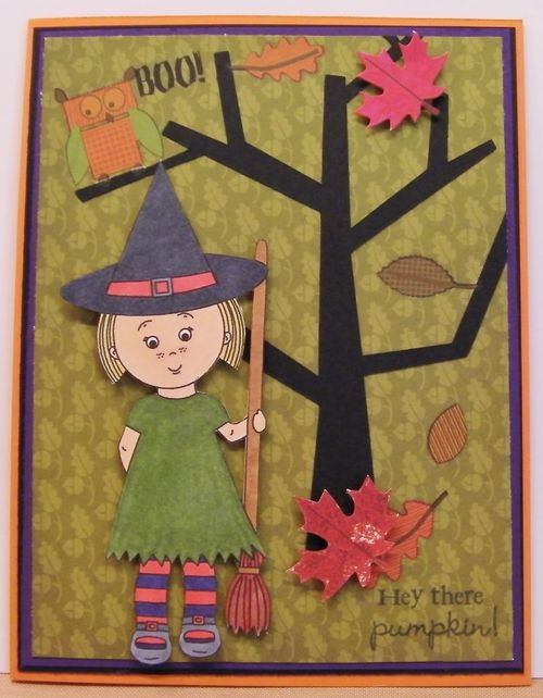 Mikala Ann being a good witch - Rhonda Zmikly