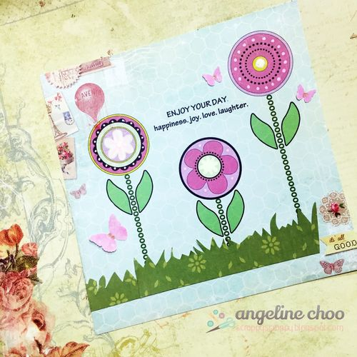 Angeline choo - Sentiment stems and flower tops