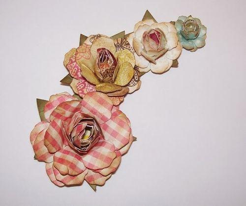 Paper flowers - Debbie Fisher