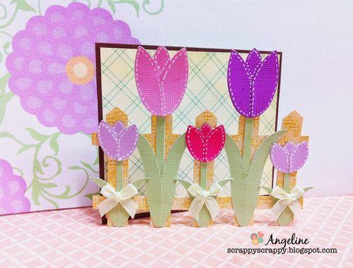 Tulip card set - Angeline Choo