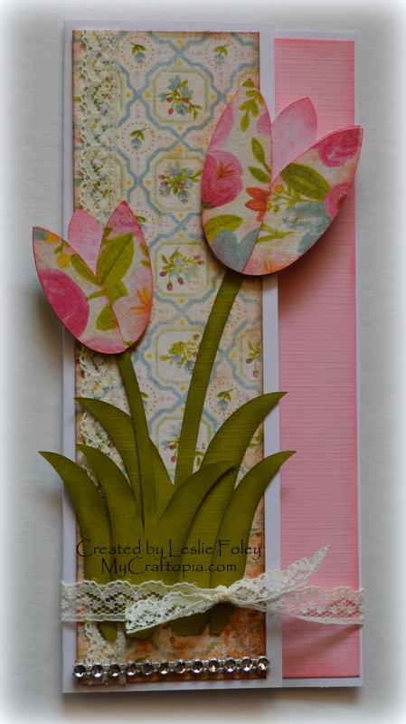 Tulip card set - Leslie Foley