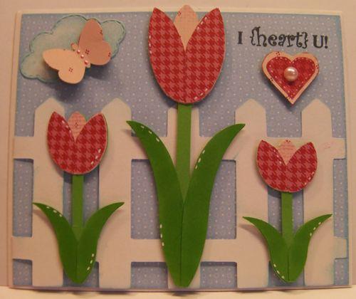 Tulip card set - Rhonda Zmikly