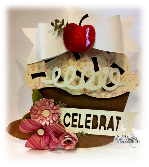 Celebrate - Lisa Minckler - Cupcake templates