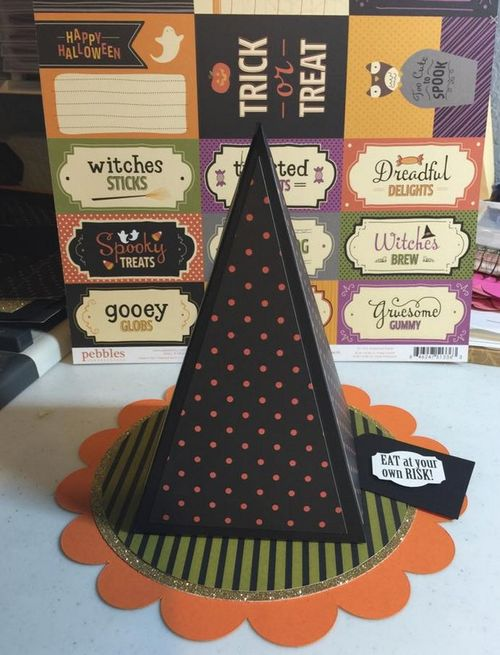 Denise Chapman - witch hat box