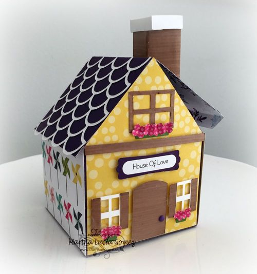 3d house - martha - quirkycrafts