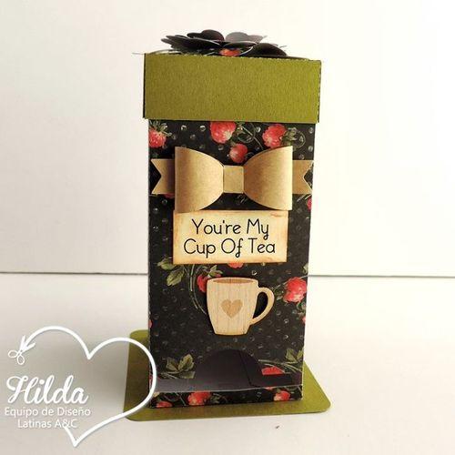 Hilda - Tea Box Holder