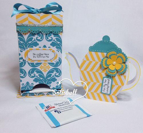 Solisbell - tea bag holder