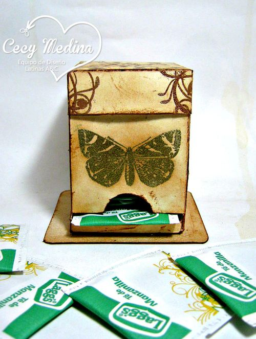 Tea box holder -cecy