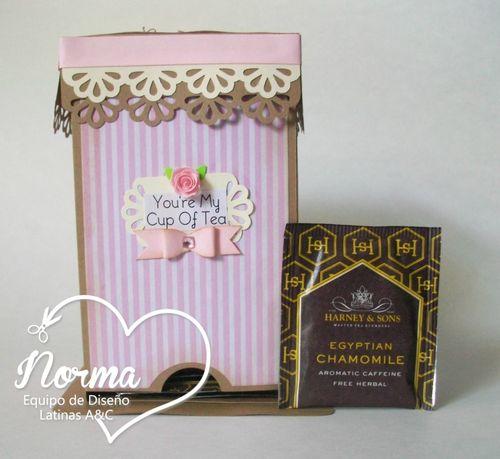 Tea Box Holder - Norma