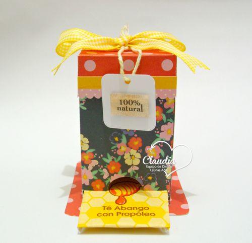 Teabox holder - Claudia -