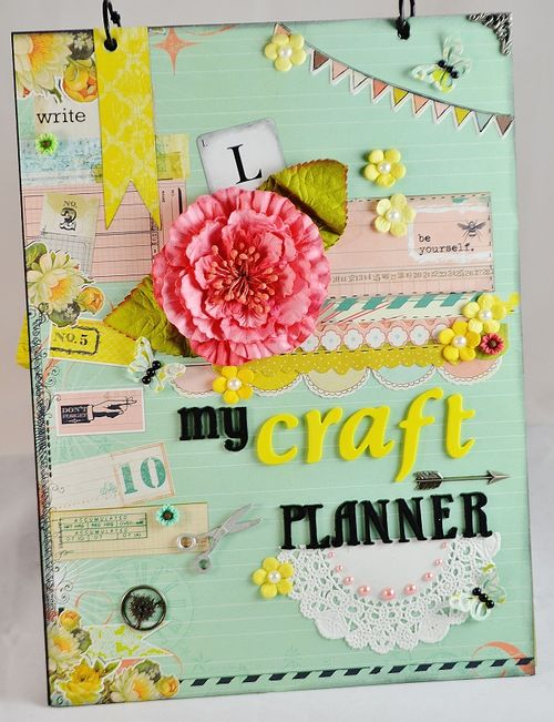 Craft Supply Planner - Lisa Snowdy