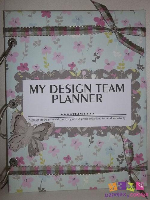 Design team Planner - Doris Molina
