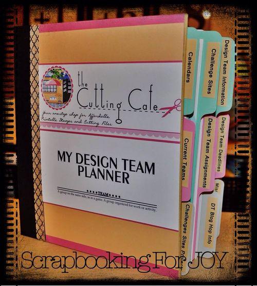 Design team planner - Mona Curo